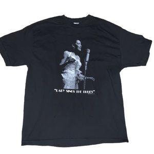 1998 Billie Holiday Lady Sings the Blues TShirt XL